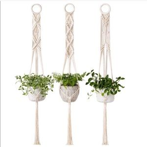 🎀Macrame Plant Hanger Wall set 🎀 NEW